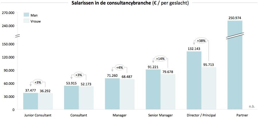 salaris van consultants