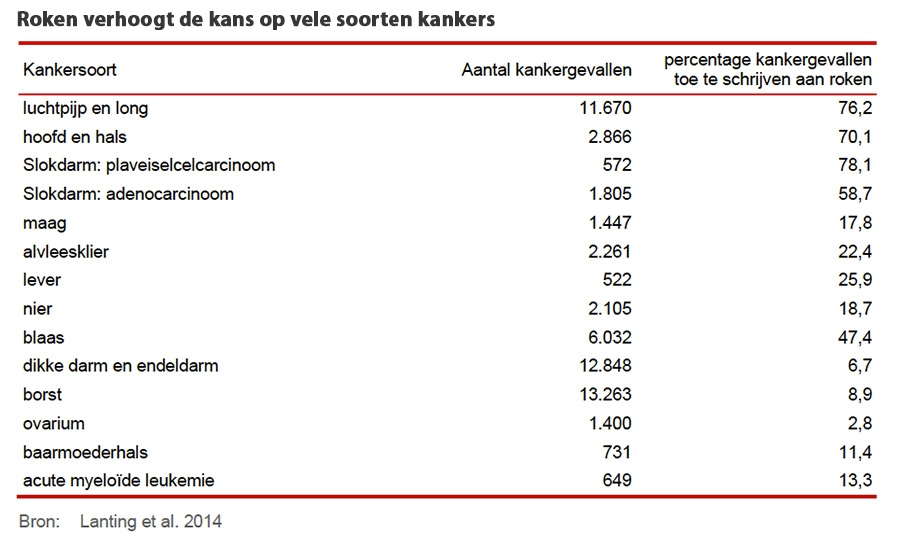 Roken Kost Samenleving 43 Miljard Per Jaar 2 000 Euro Per Burger