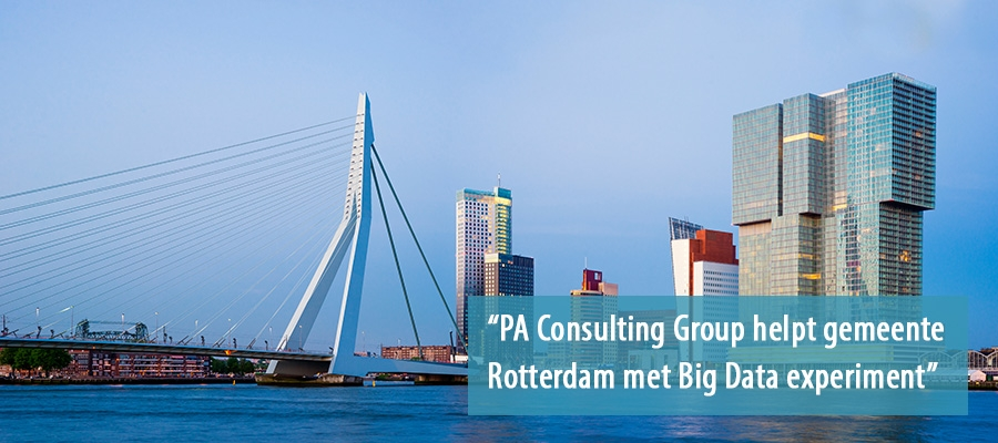 PA Consulting helpt Rotterdam met Big Data