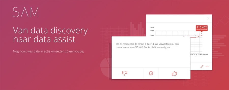 SAM - Van data discovery naar data assist