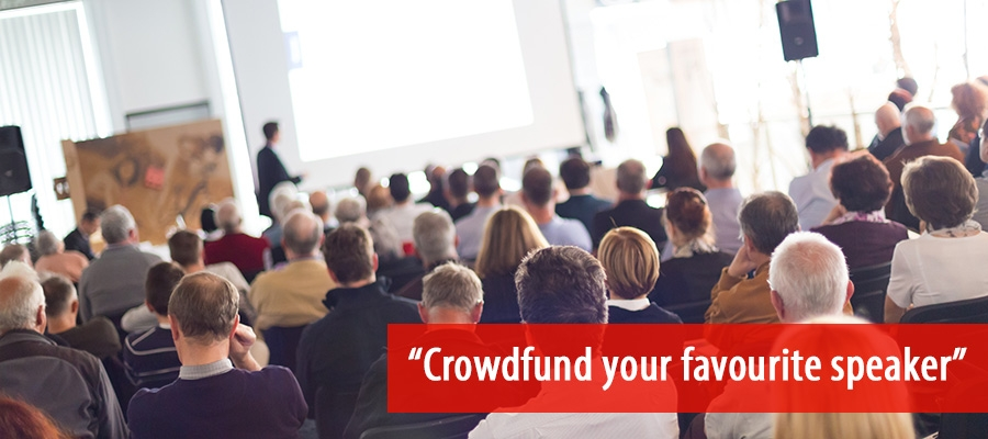 Live on Demand - Crowdfund your speaker