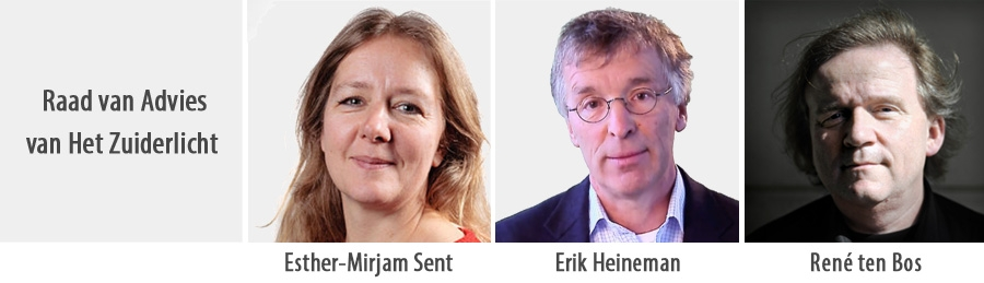 Esther-Mirjam Sent, Erik Heineman en René ten Bos