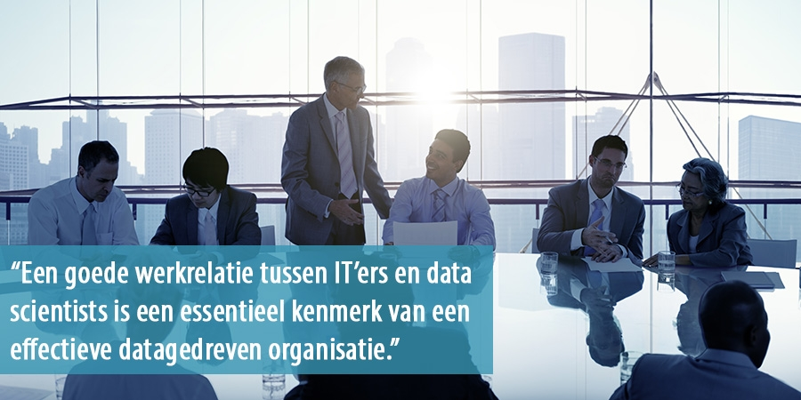 Samenwerking van professionals en data scientists