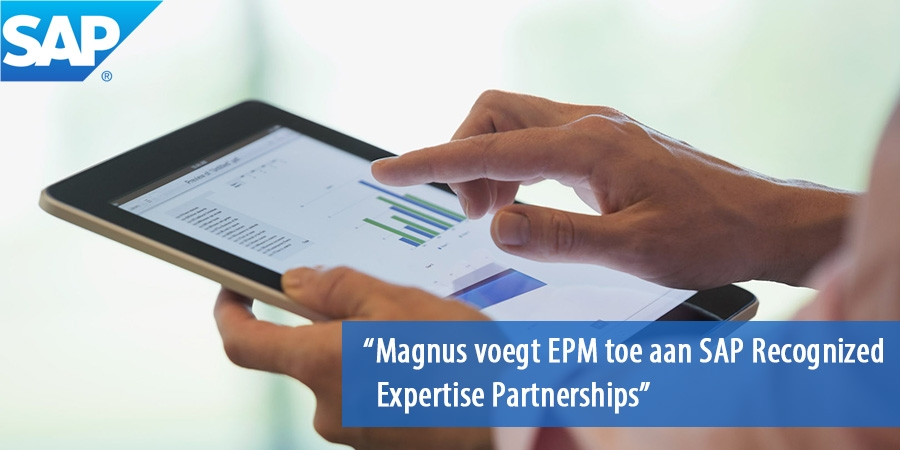 Magnus voegt EPM toe aan SAP Recognized Expertise Partnerships