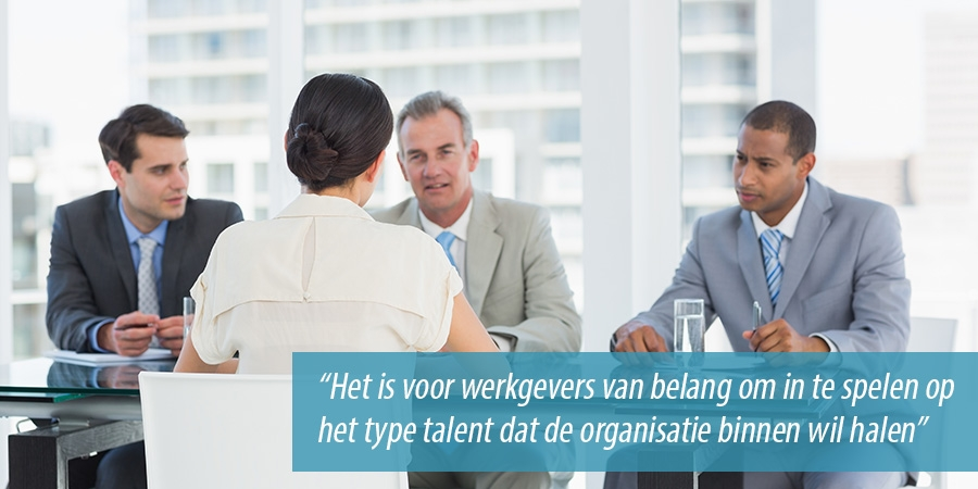 Recruitment van young professionals