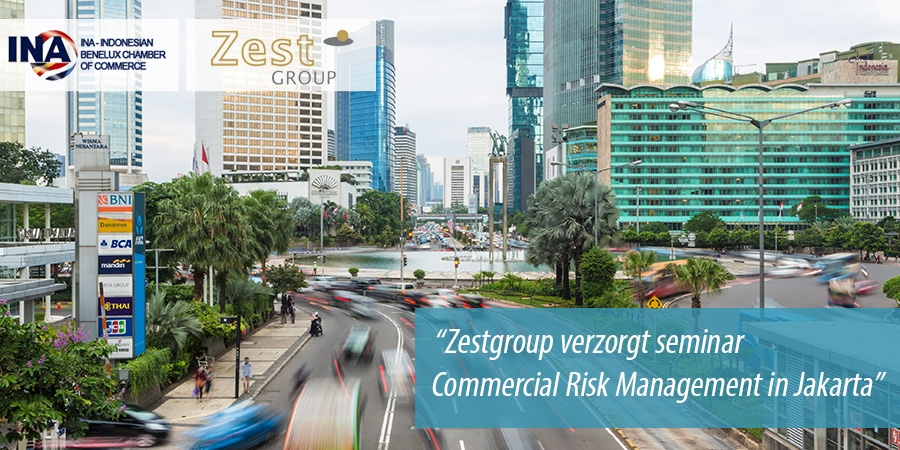 Zestgroup verzorgt seminar Commercial Risk Management in Jakarta
