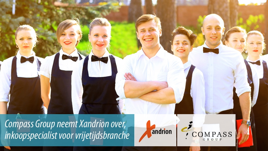 Compass Group koopt Xandrion