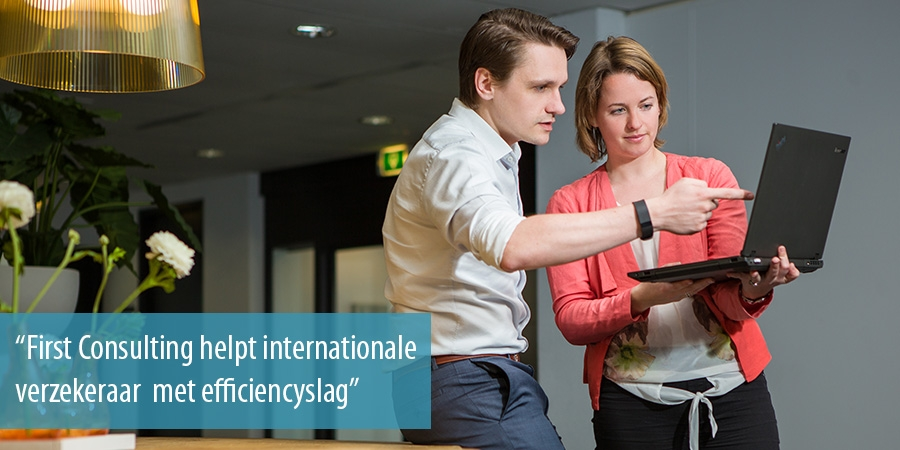 First Consulting helpt internationale verzekeraar  met efficiencyslag