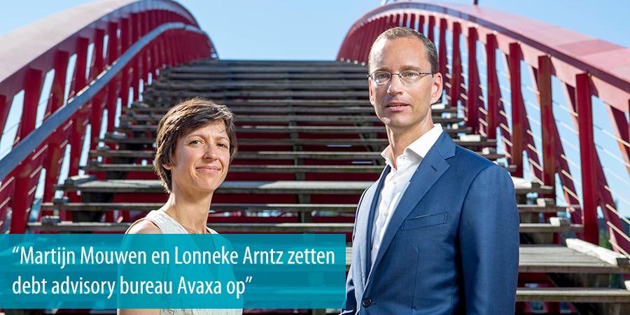 Martijn Mouwen en Lonneke Arntz