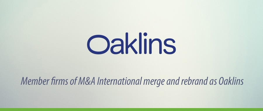 Member firms of M&A International merge and rebrand as Oaklins
