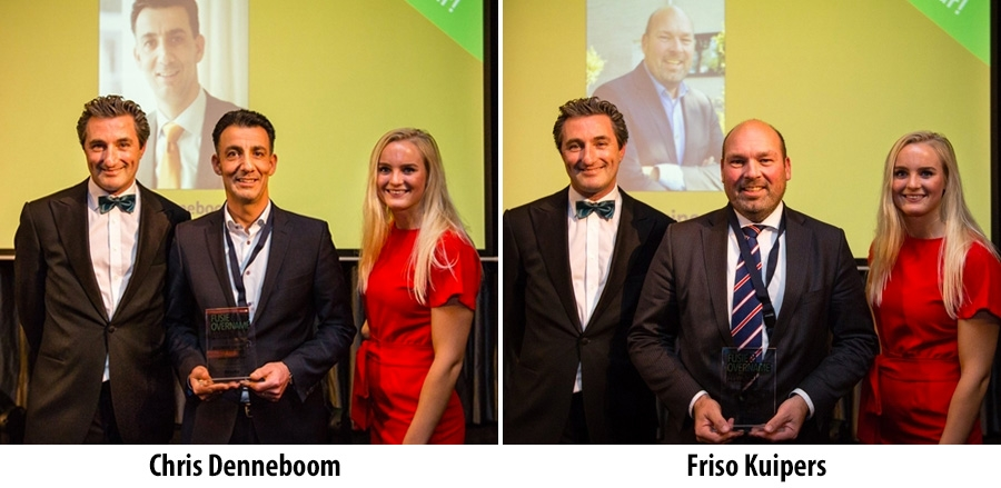 Chris Denneboom en Friso Kuipers winnen M&A Award