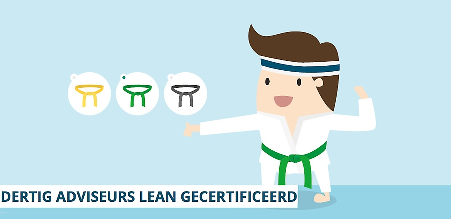 30 adviseurs van Hospitality Group behalen lean certificering