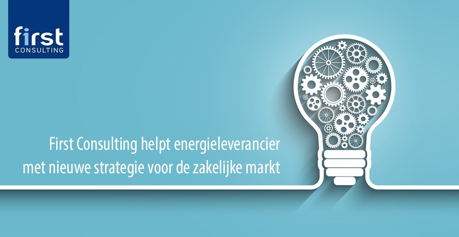 First Consulting helpt energieleverancier met strategie