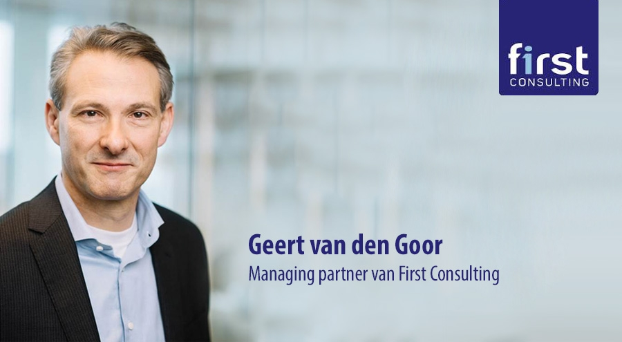 Geert van den Goor, Managing partner van First Consulting