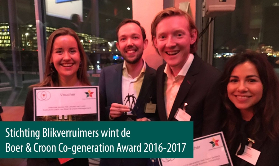 Stichting Blikverruimers wint Co-generation Award