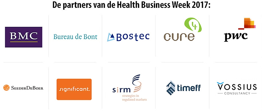 Partners van de Health Business Week 2017