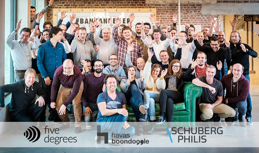 De teams van Schuberg Philis, Boondoggle en Five Degrees