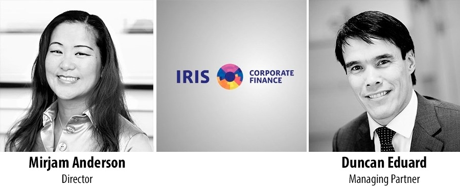 Mirjam Anderson en Duncan Eduard - IRIS Corporate Finance