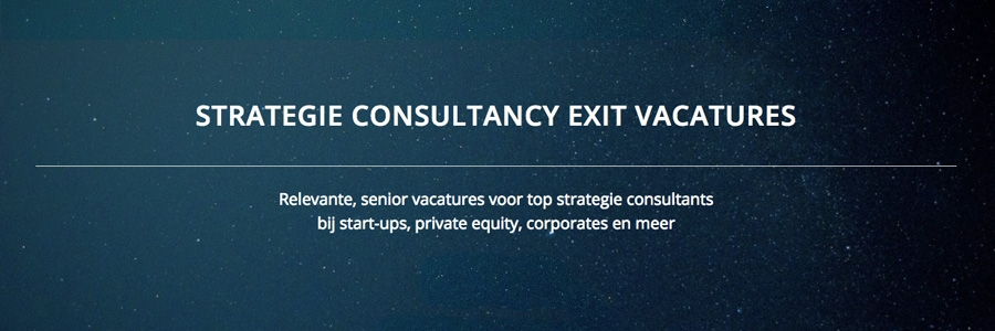 ConsultancyExit banner