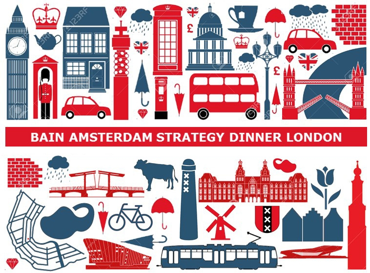 Bain Amsterdam Strategy Dinner London