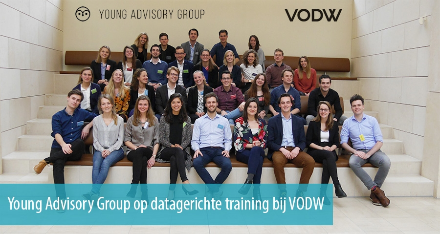 Young Advisory Group op datagerichte training bij VODW