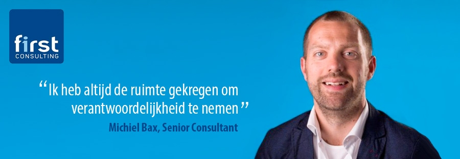 Michiel Bax - First Consulting