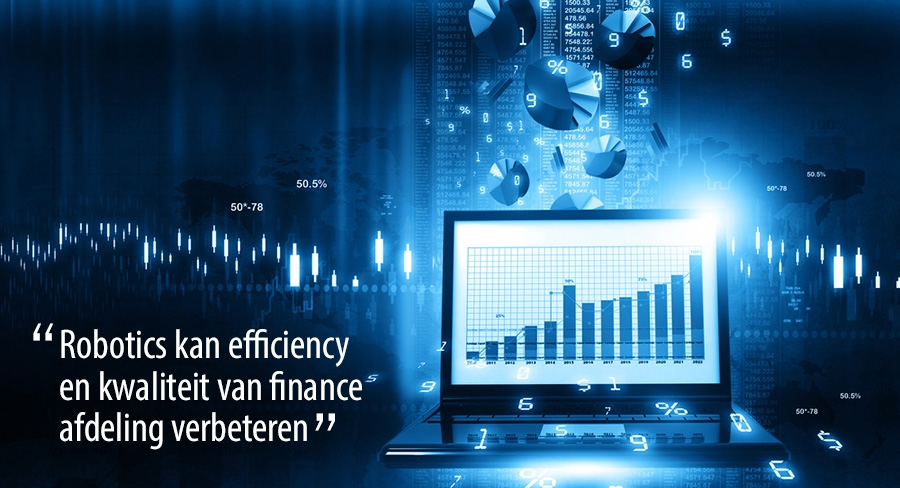 Digitalisering in Finance afdeling