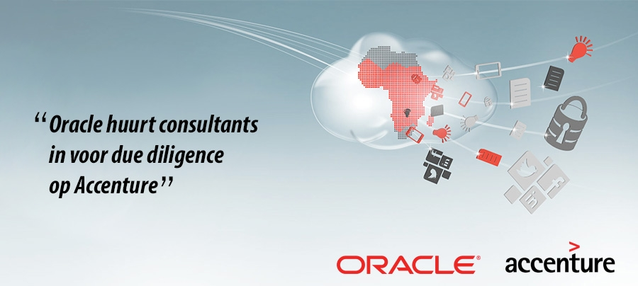 Oracle huurt consultants in voor due diligence op Accenture