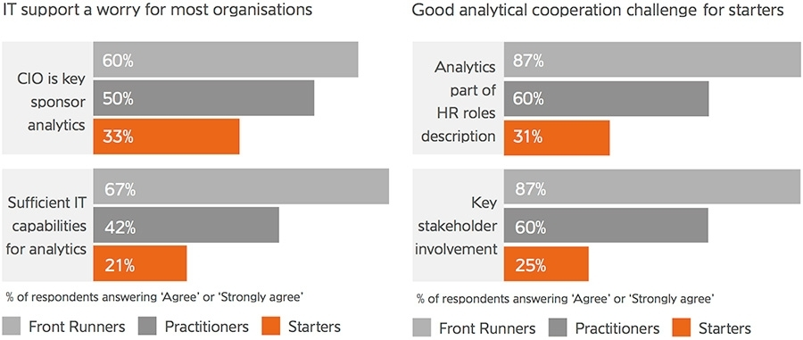 IT support a worry for most organisations-Good analytical cooperation challenge for starters