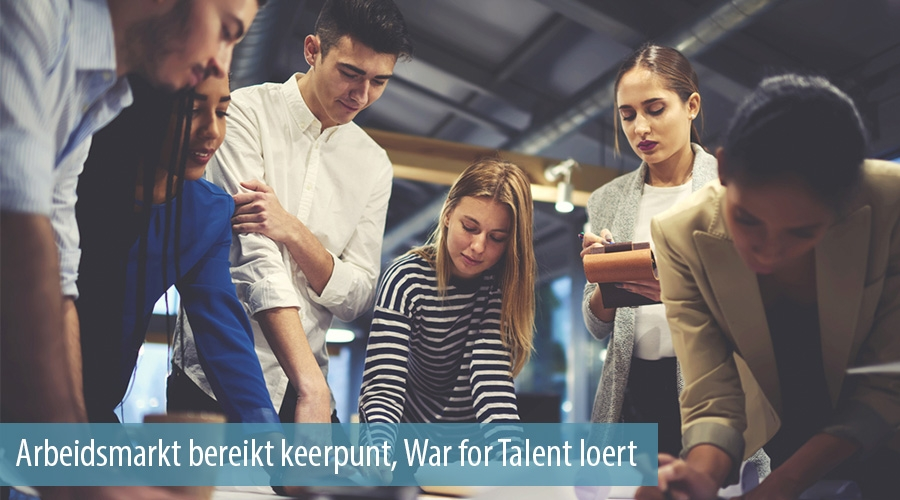 Arbeidsmarkt bereikt keerpunt, War for Talent loert