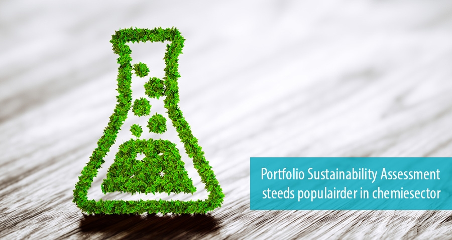 Portfolio Sustainability Assessment steeds populairder in chemiesector