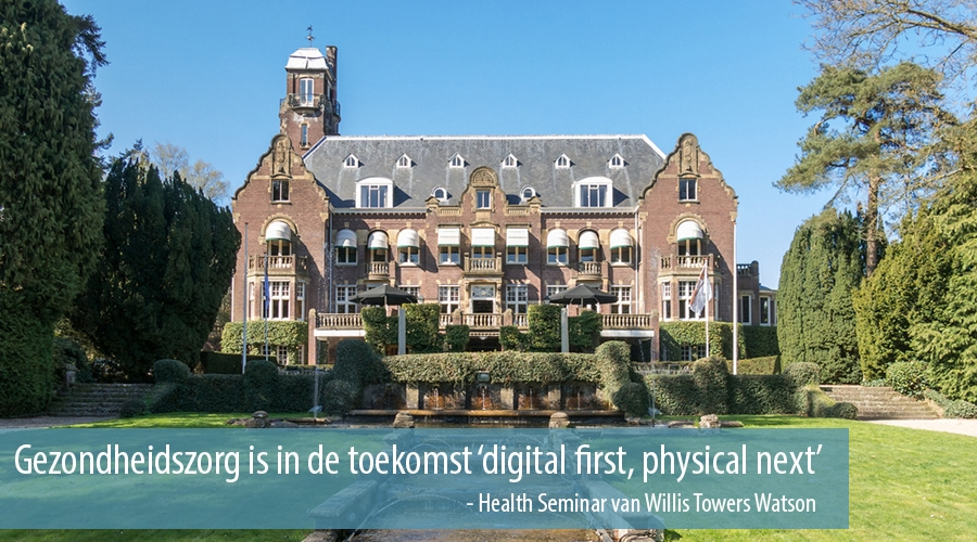 Gezondheidszorg is in de toekomst  'digital first, physical next'