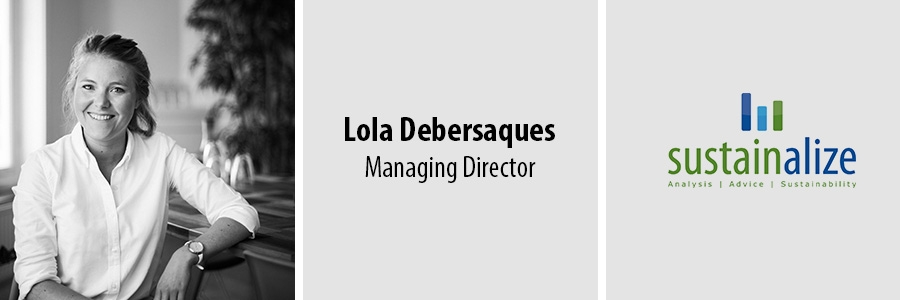 Lola Debersaques, Sustainalize