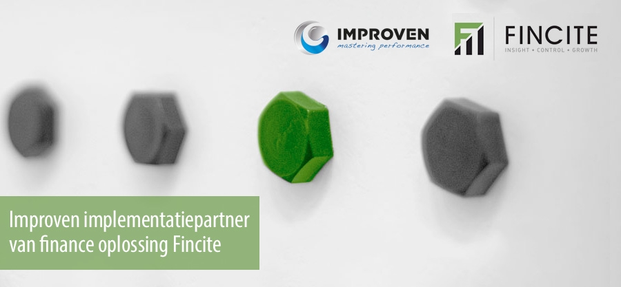 Improven implementatiepartner van finance oplossing Fincite