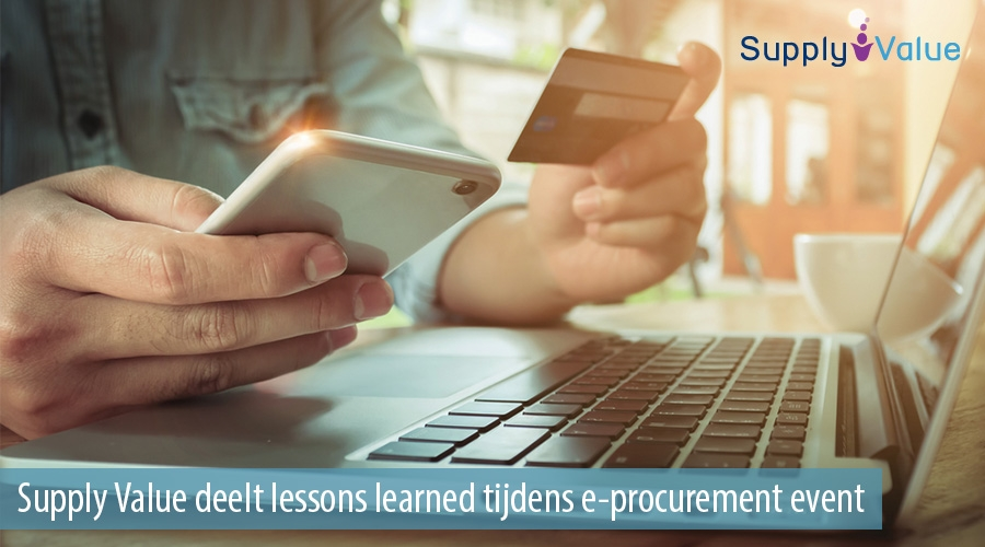 Supply Value deelt lessons learned tijdens e-procurement event