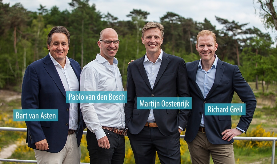 Bart van Asten, Pablo van den Bosch, Martijn Oostenrijk en Richard Greil - Retun on Projects