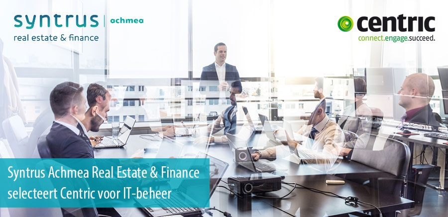 Syntrus Achmea Real Estate & Finance besteedt deel IT-beheer uit aan Centric