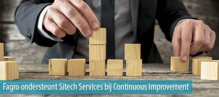 Fagro ondersteunt Sitech Services bij Continuous Improvement
