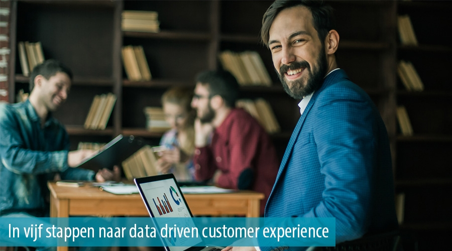 In vijf stappen naar data driven customer experience