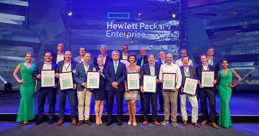 Winnaars HPE Partner Awards 2017