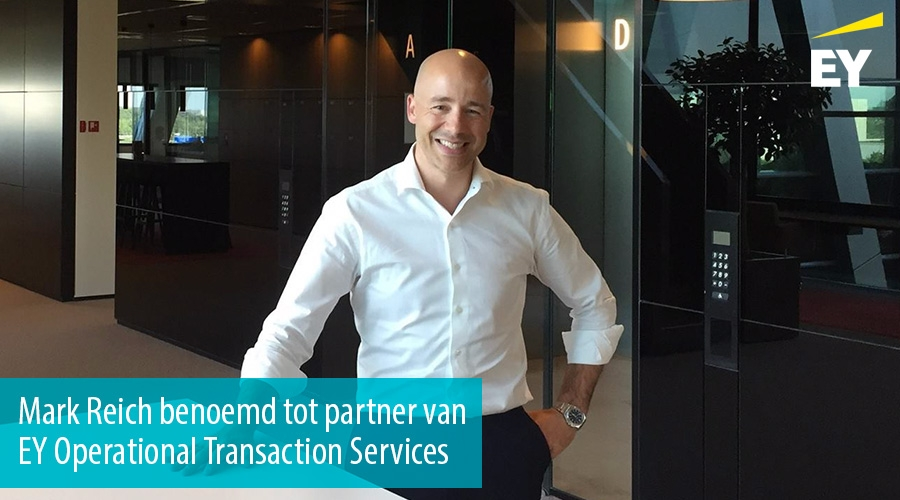 Mark Reich benoemd tot partner van EY Operational Transaction Services