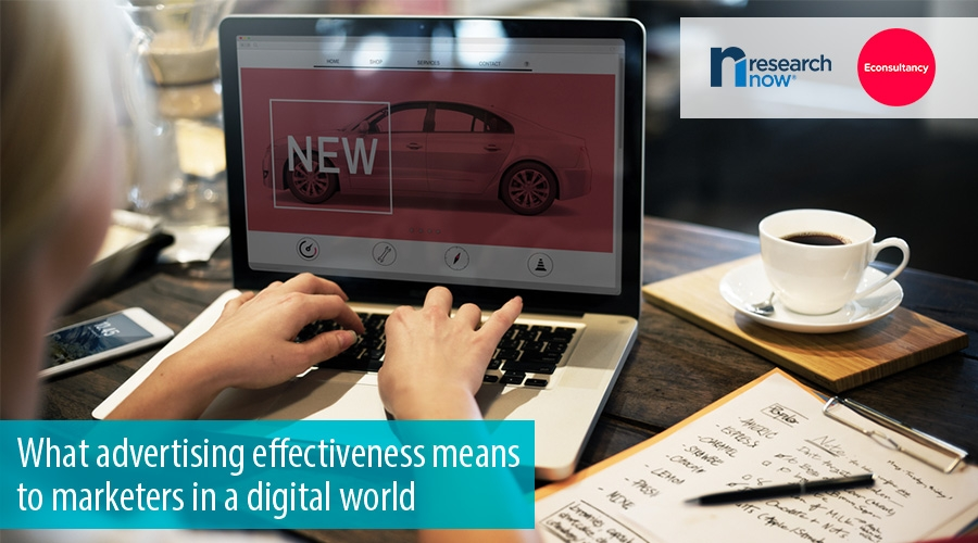 What advertising effectiveness means to marketers in a digital world