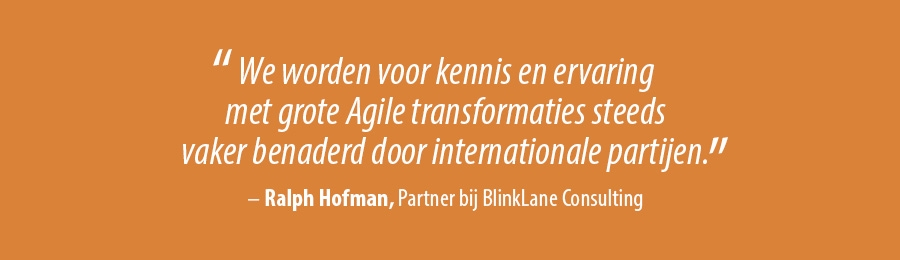 Quote Ralph Hofman, Partner bij BlinkLane Consulting