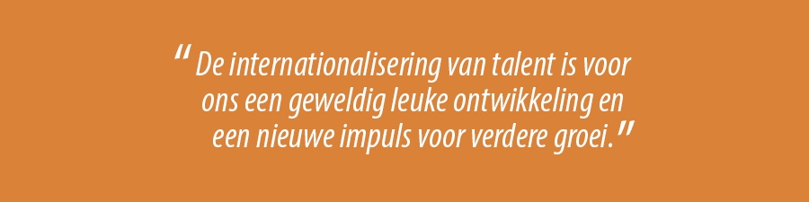 internationalisering van talent