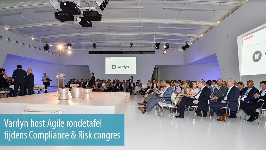 Varrlyn host Agile rondetafel tijdens Compliance & Risk congres