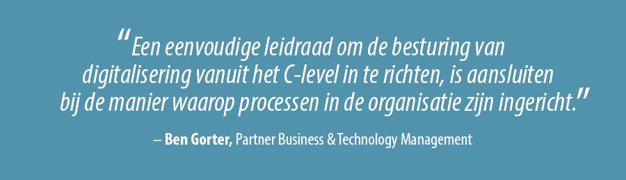 Quote Ben Gorter, Partner Business & Technology Management