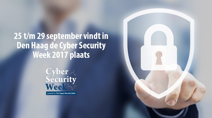 25 t/m 29 september vindt in Den Haag de Cyber Security Week 2017 plaats