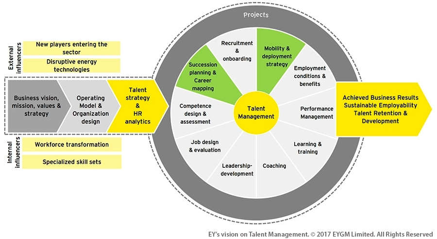 Talent Management approach in Energy