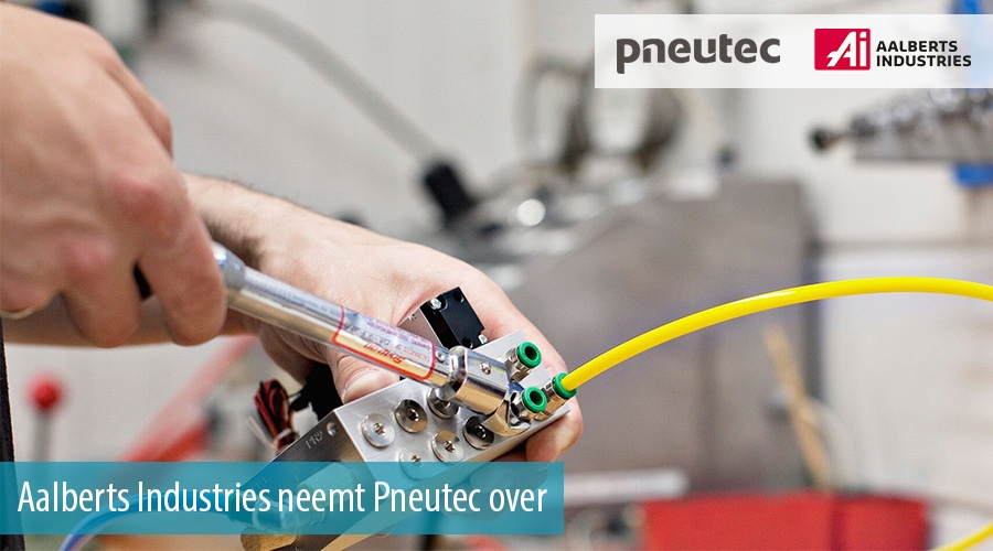 Aalberts Industries neemt Pneutec over