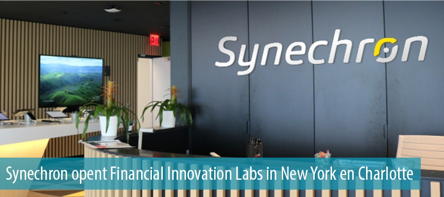 Synechron opent Financial Innovation Labs in New York en Charlotte